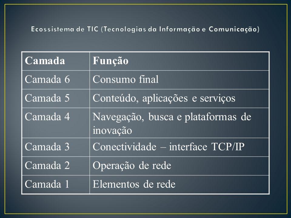 Ecossistema de TIC (Tecnologias da Informação e Comunicação)