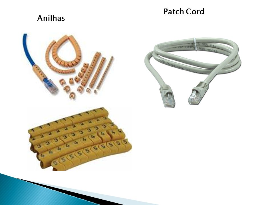 Patch Cord Anilhas