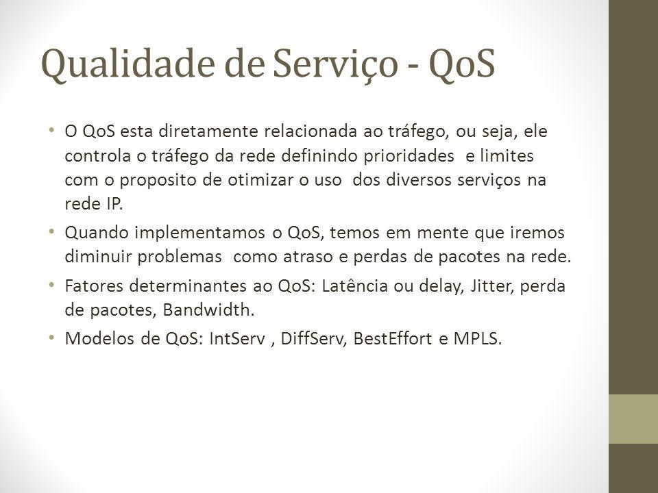 Qualidade de Serviço - QoS