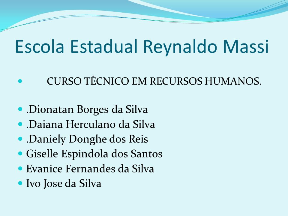 Escola Estadual Reynaldo Massi