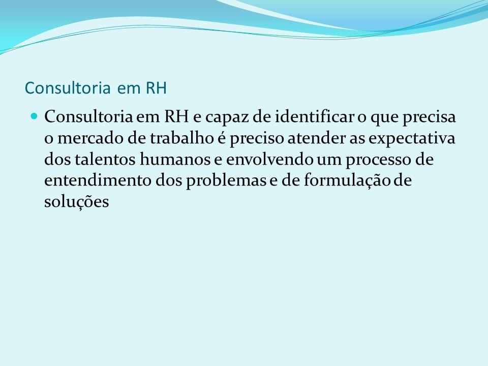 Consultoria em RH