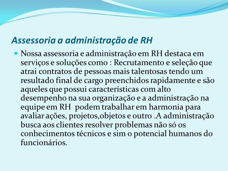 Assessoria a administração de RH