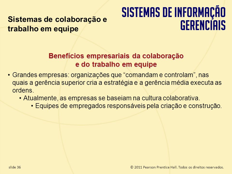 Benefícios empresariais da colaboração