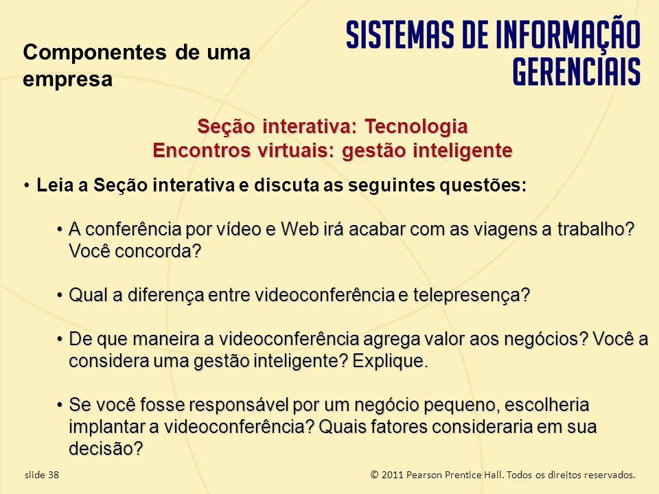 Seção interativa: Tecnologia Encontros virtuais: gestão inteligente