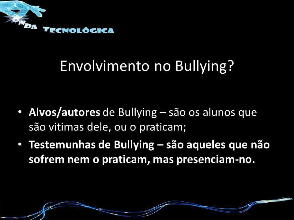 Envolvimento no Bullying