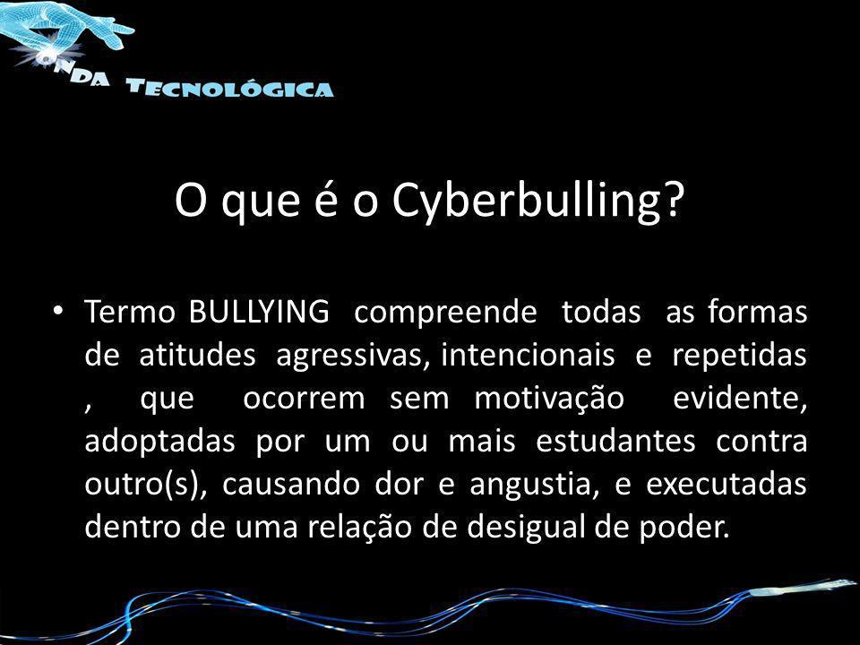 O que é o Cyberbulling