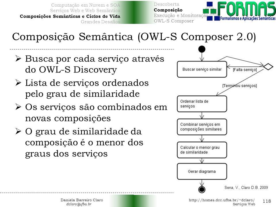 Composição Semântica (OWL-S Composer 2.0)