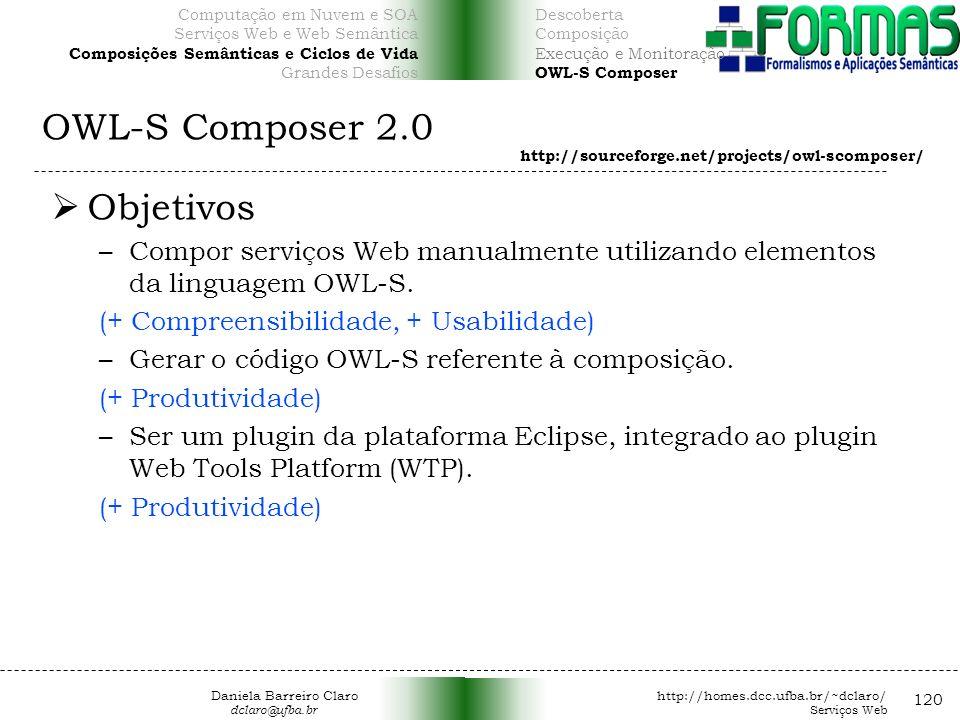 OWL-S Composer 2.0 Objetivos