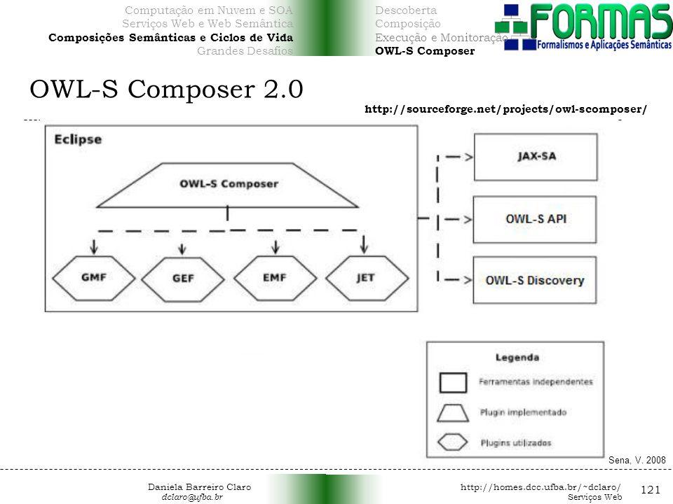 OWL-S Composer 2.0 121 Computação em Nuvem e SOA