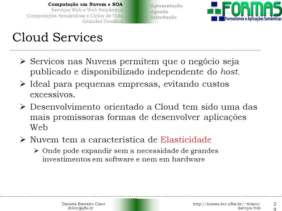 Computação em Nuvem e SOA