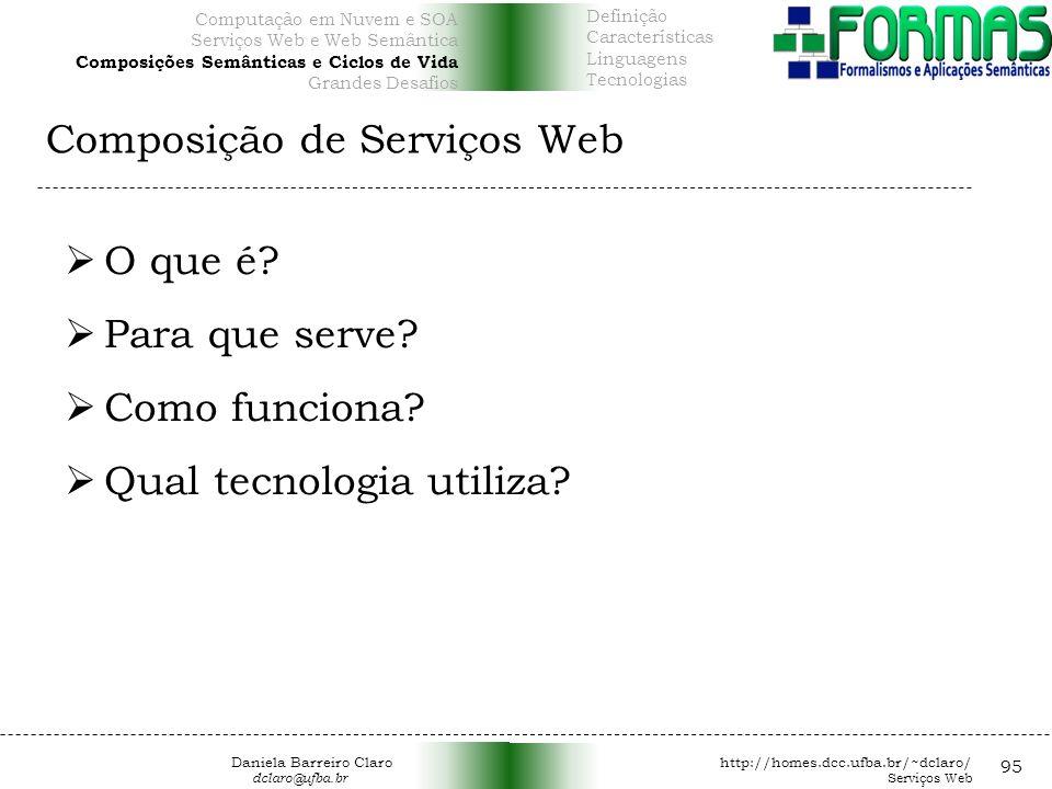 Composição de Serviços Web