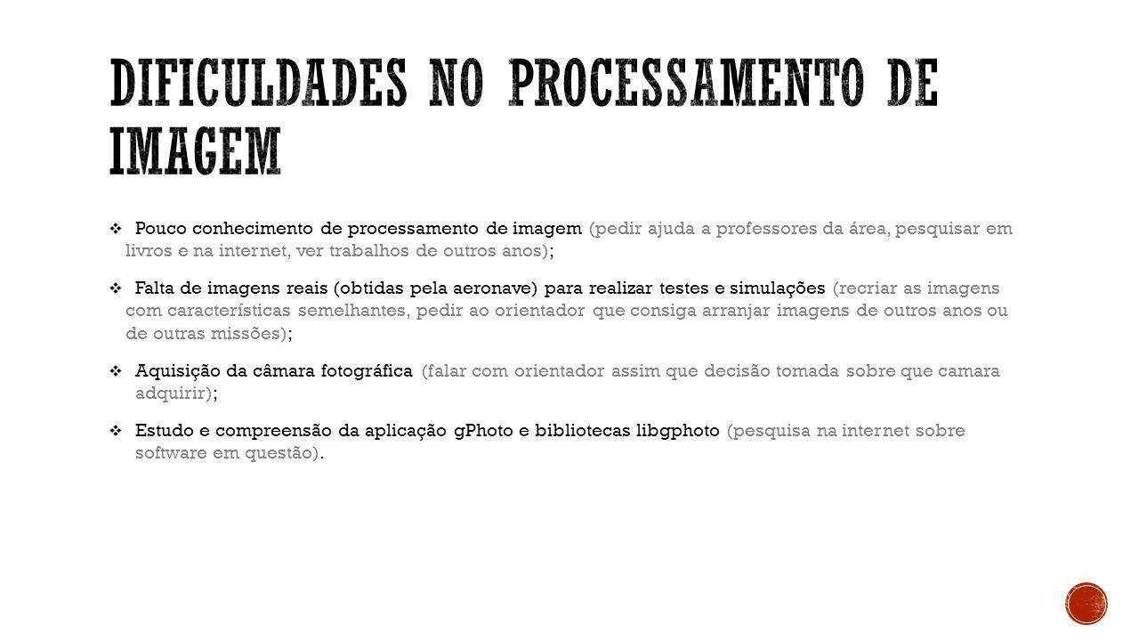 Dificuldades no processamento de Imagem