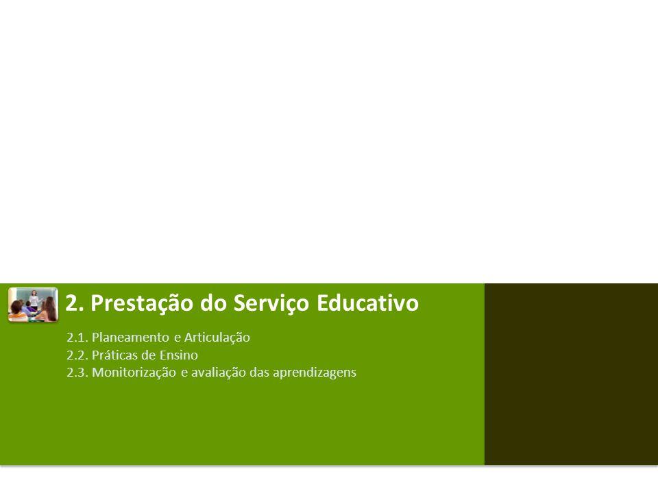 2. Prestação do Serviço Educativo