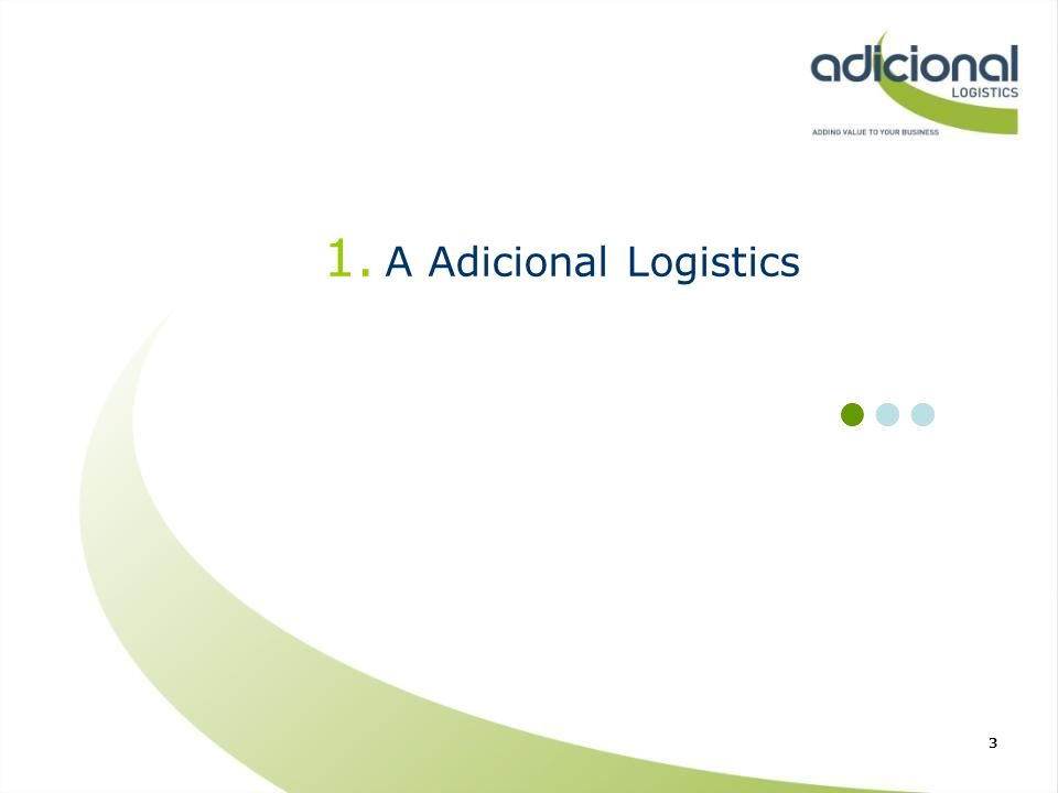 A Adicional Logistics n n n 3