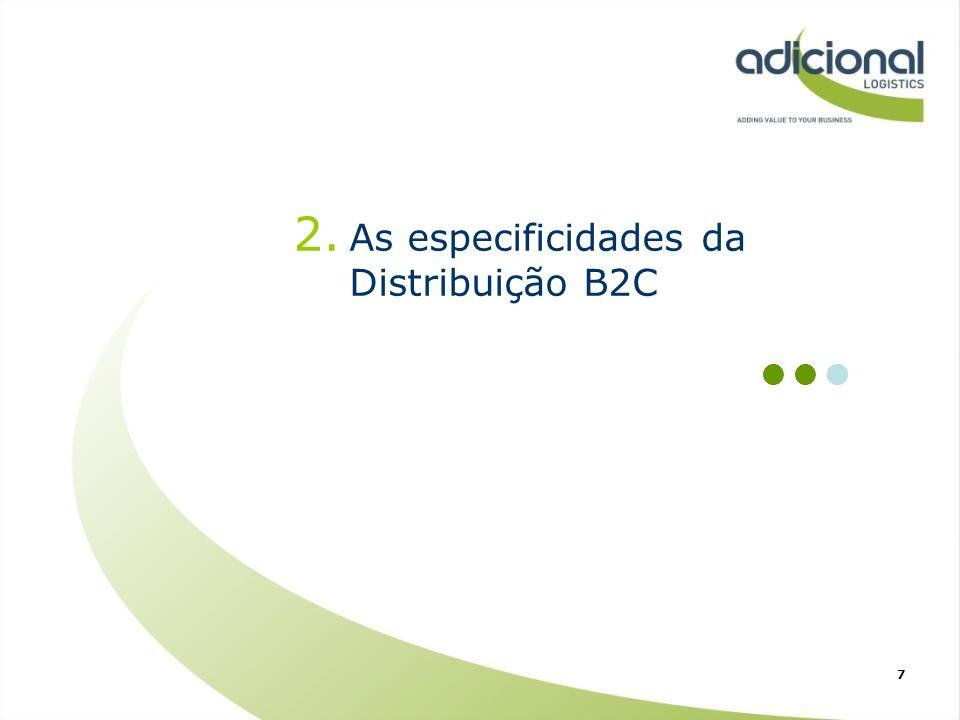 As especificidades da Distribuição B2C