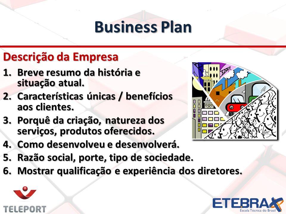 Business Plan Descrição da Empresa