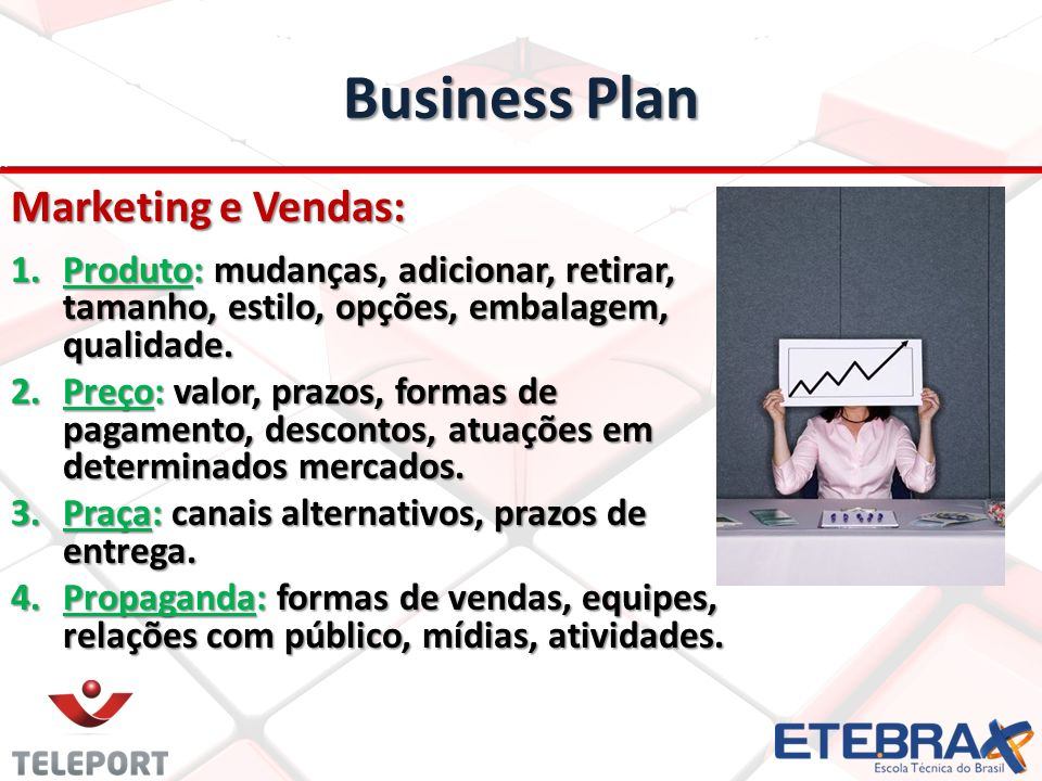 Business Plan Marketing e Vendas: