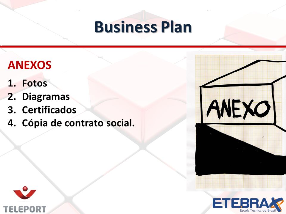 Business Plan ANEXOS Fotos Diagramas Certificados