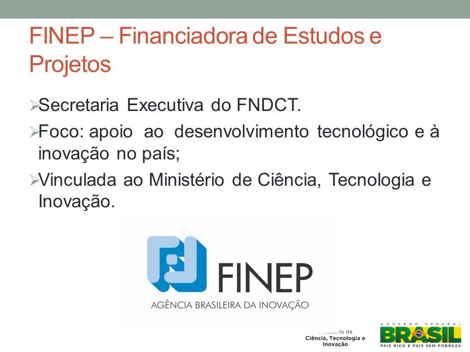 FINEP – Financiadora de Estudos e Projetos