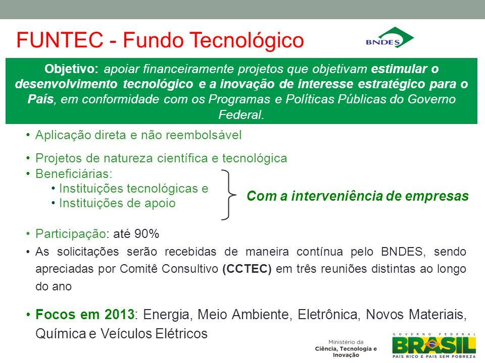 FUNTEC - Fundo Tecnológico