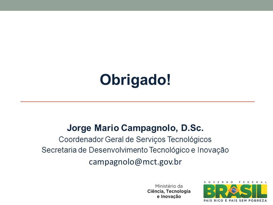 Jorge Mario Campagnolo, D.Sc.