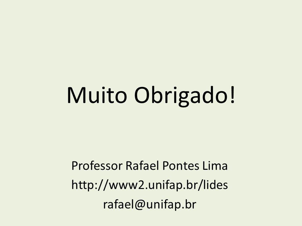 Professor Rafael Pontes Lima