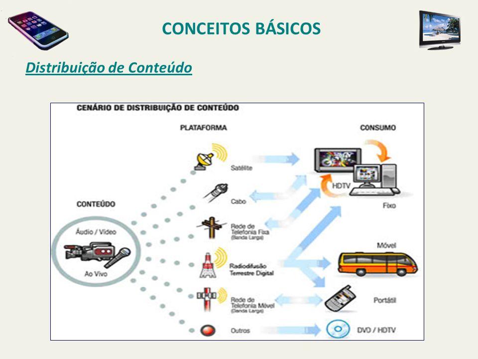 CONCEITOS BÁSICOS Distribuição de Conteúdo