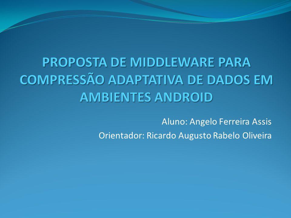 PROPOSTA DE MIDDLEWARE PARA COMPRESSÃO ADAPTATIVA DE DADOS EM AMBIENTES ANDROID