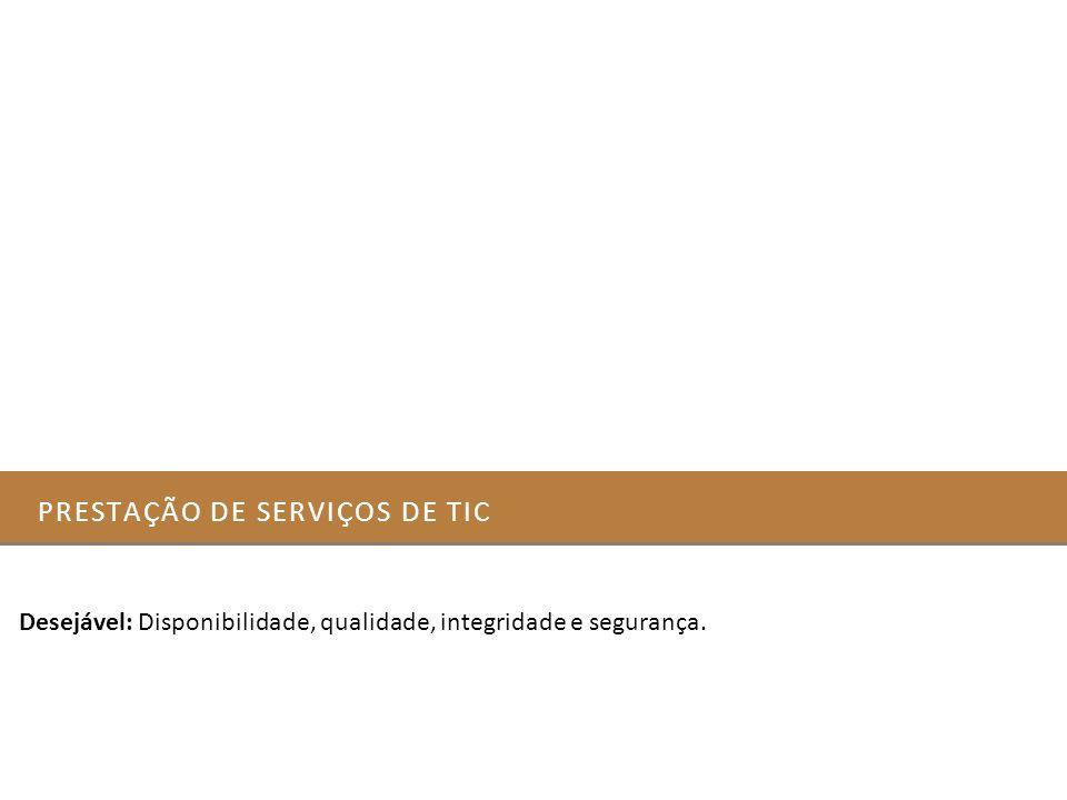 Prestação de serviços de Tic