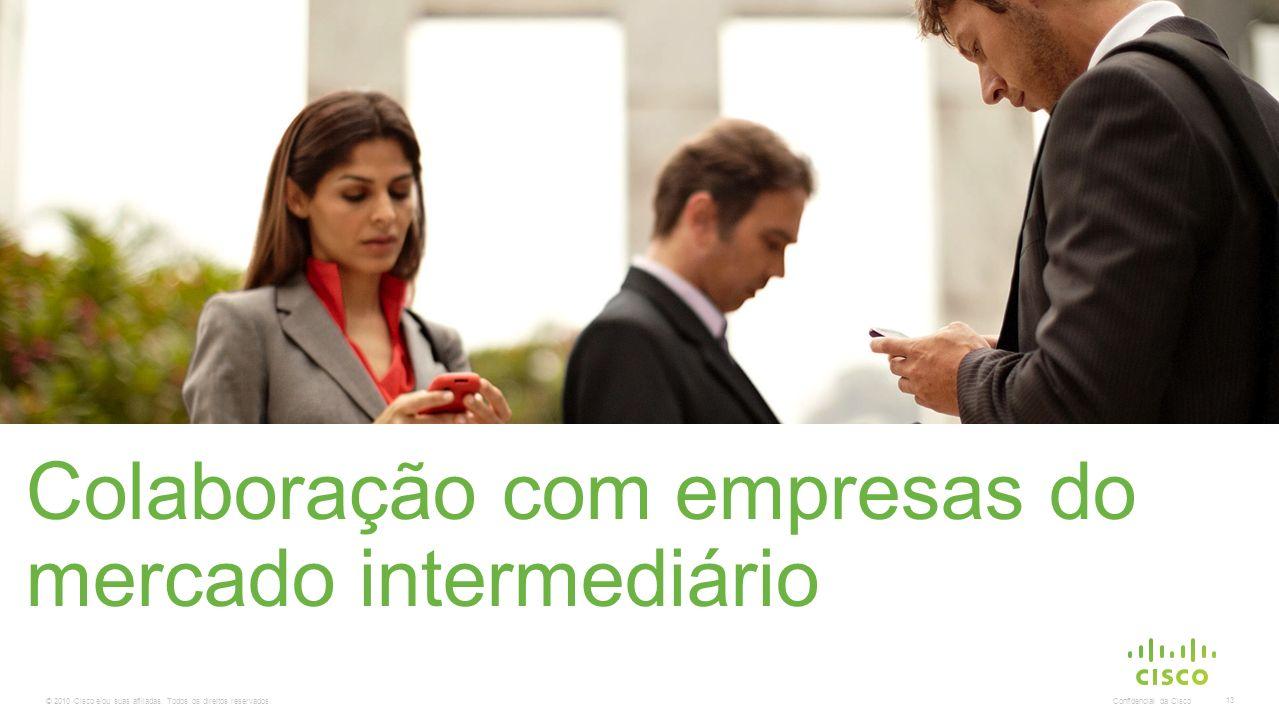 Colaboração com empresas do mercado intermediário