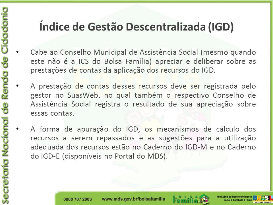 Índice de Gestão Descentralizada (IGD)