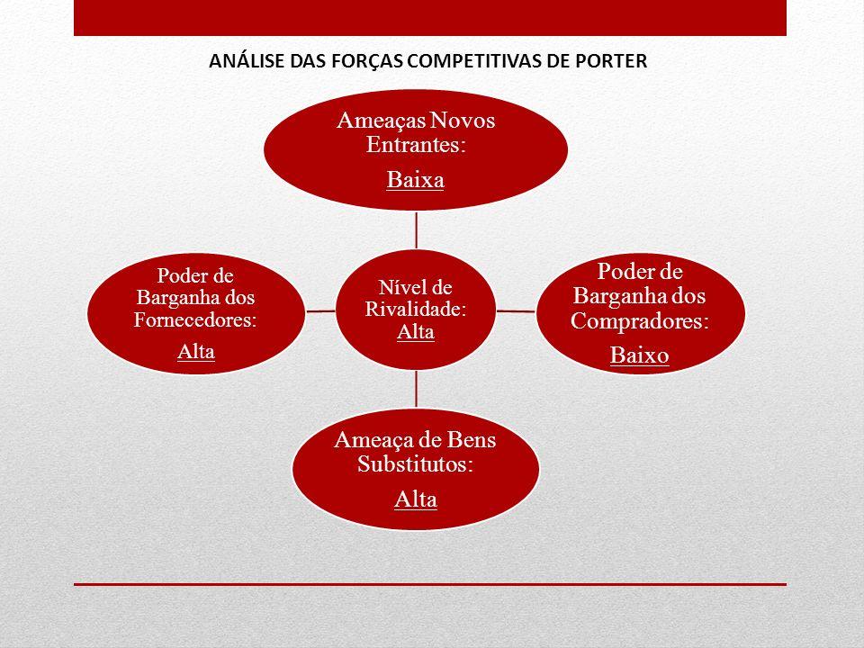 ANÁLISE DAS FORÇAS COMPETITIVAS DE PORTER