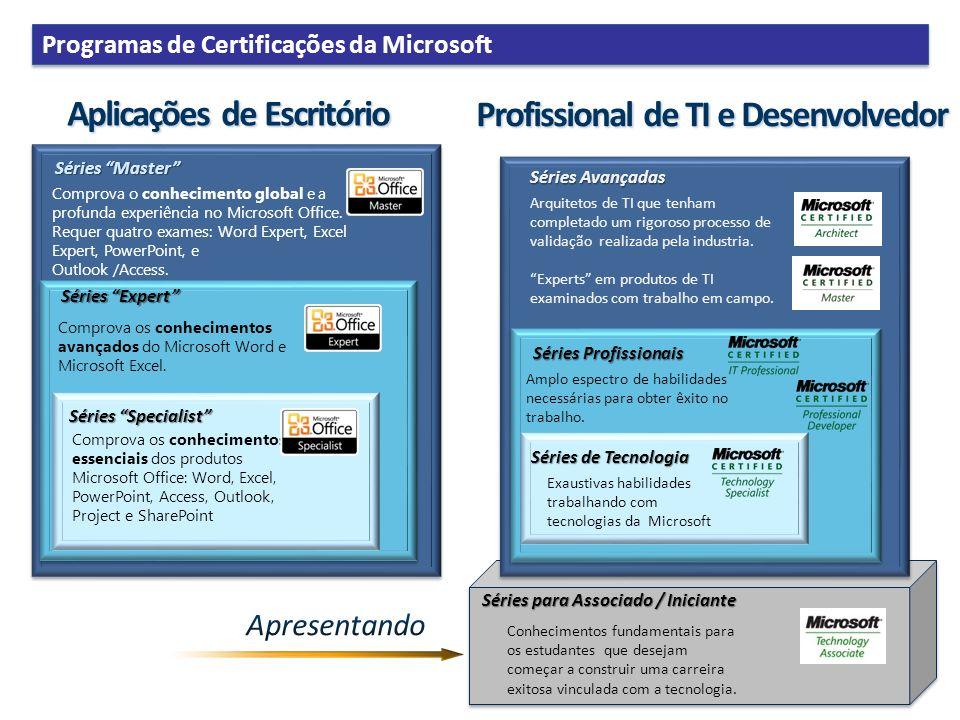 Aplicações de Escritório Profissional de TI e Desenvolvedor