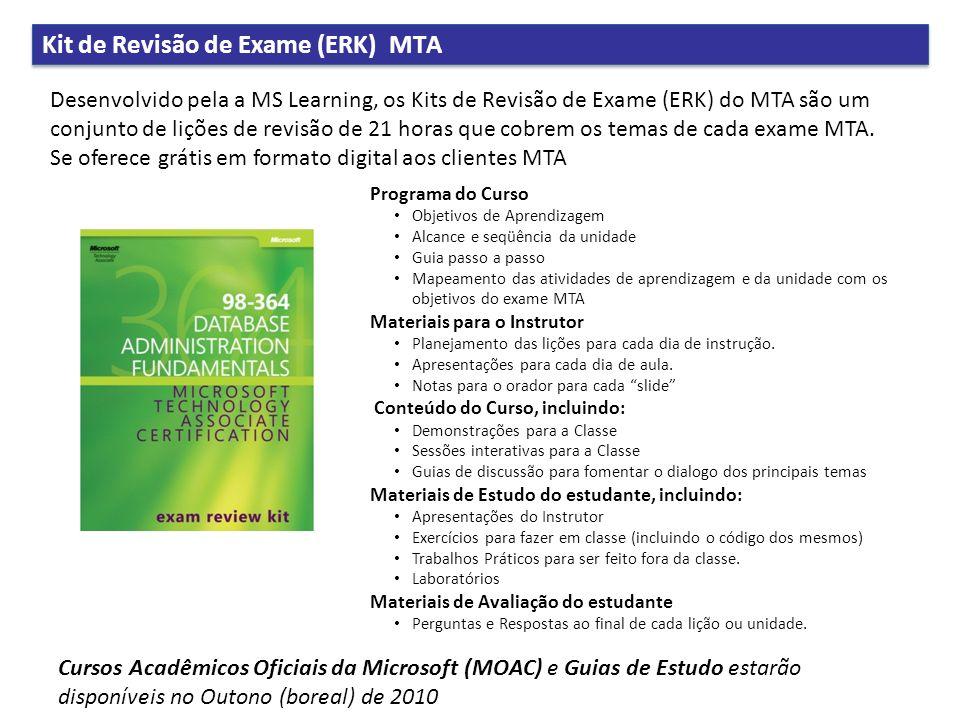 Kit de Revisão de Exame (ERK) MTA