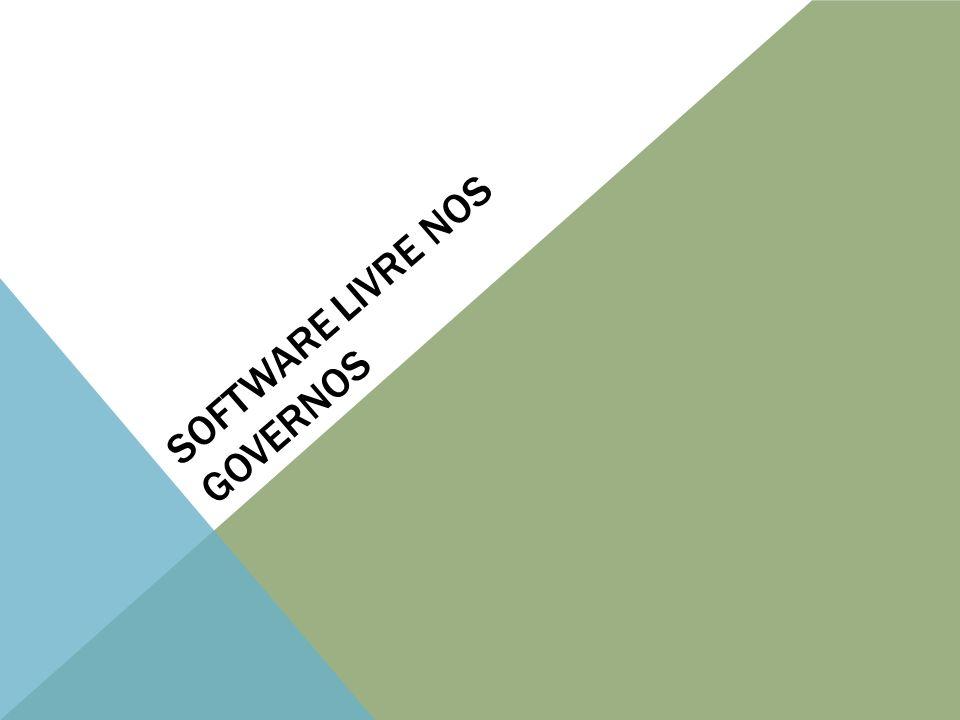 Software livre nos governos