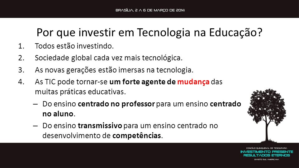 Por que investir em Tecnologia na Educação