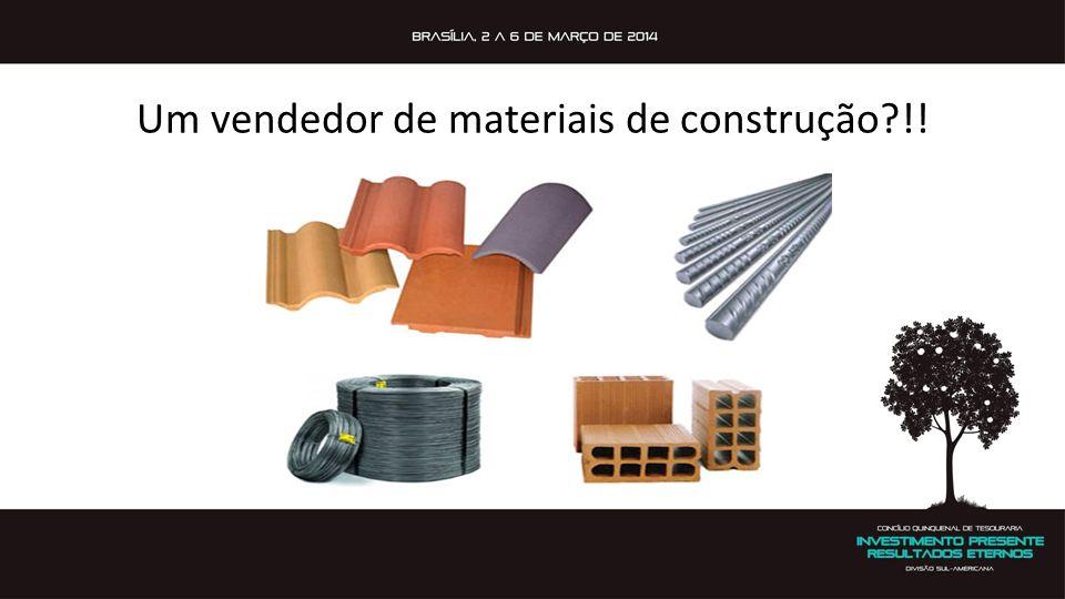 Um vendedor de materiais de construção !!