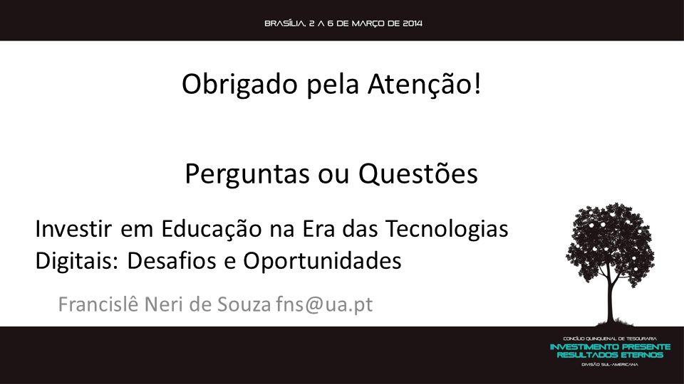 Francislê Neri de Souza fns@ua.pt