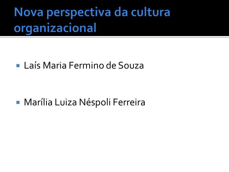 Nova perspectiva da cultura organizacional