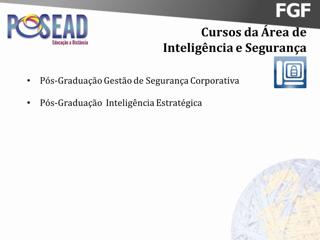 Cursos da Área de Inteligência e Segurança