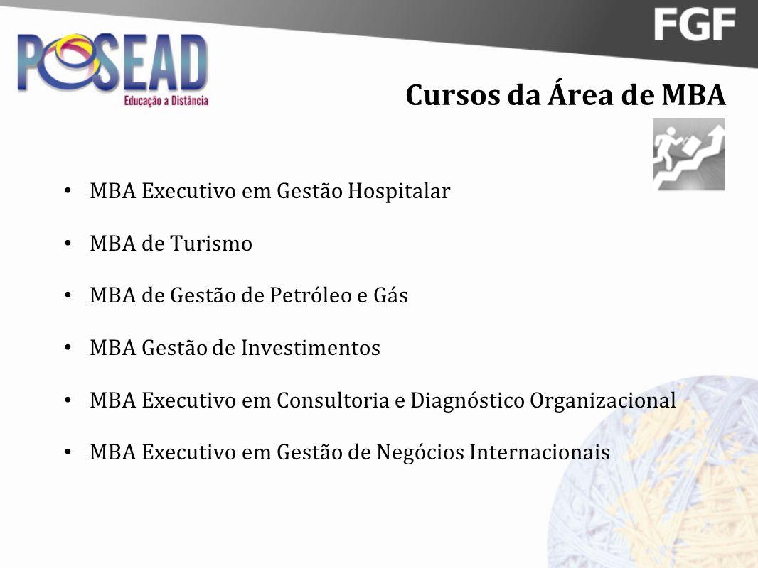 Cursos da Área de MBA MBA Executivo em Gestão Hospitalar