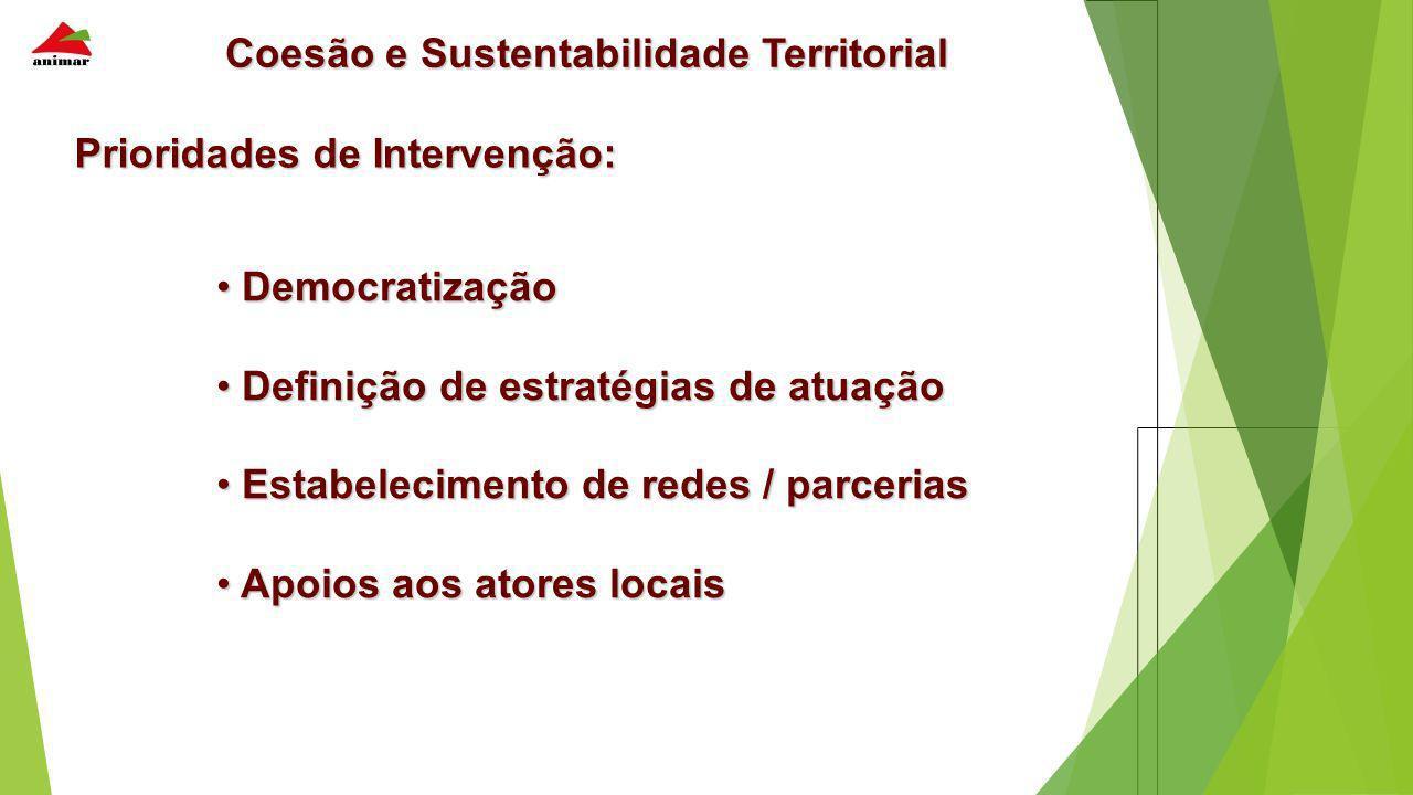 Coesão e Sustentabilidade Territorial