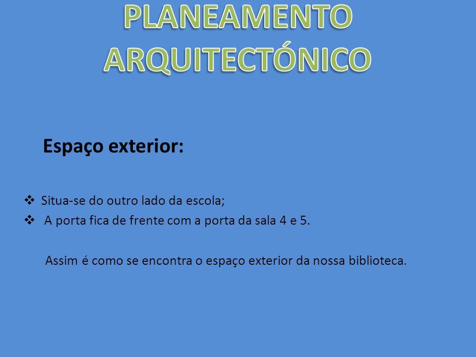 PLANEAMENTO ARQUITECTÓNICO