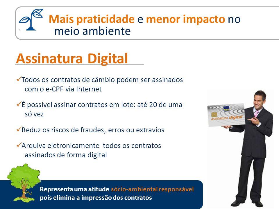 Assinatura Digital Mais praticidade e menor impacto no meio ambiente