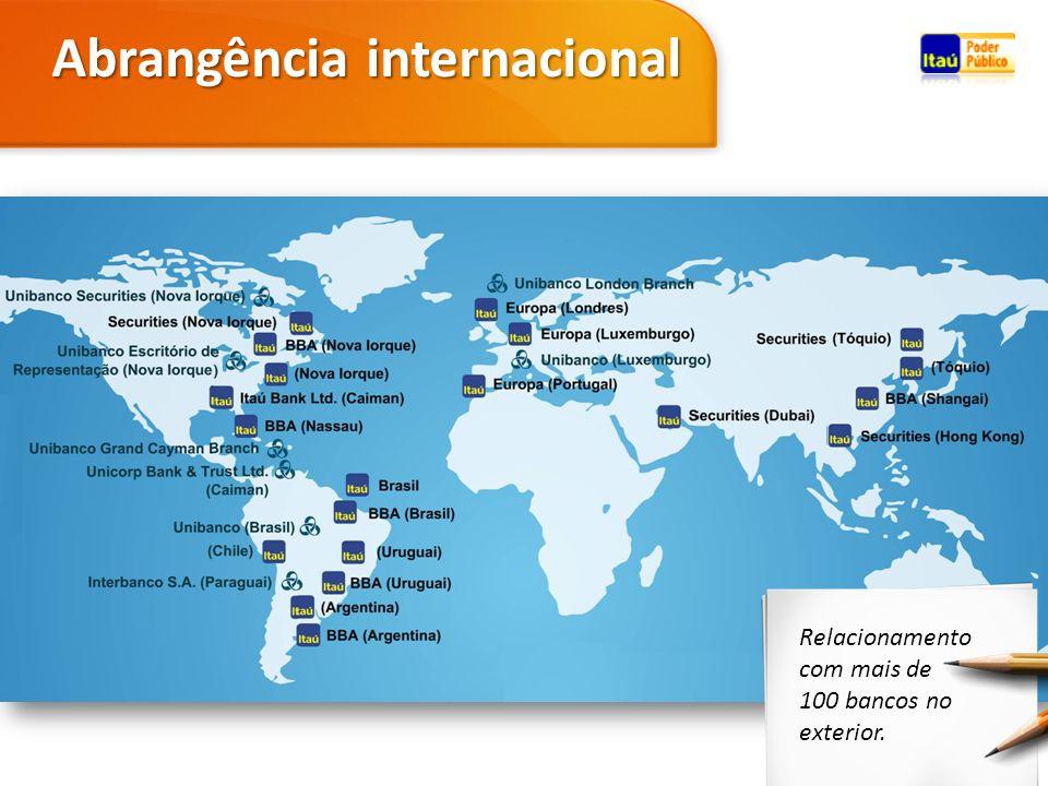 Abrangência internacional