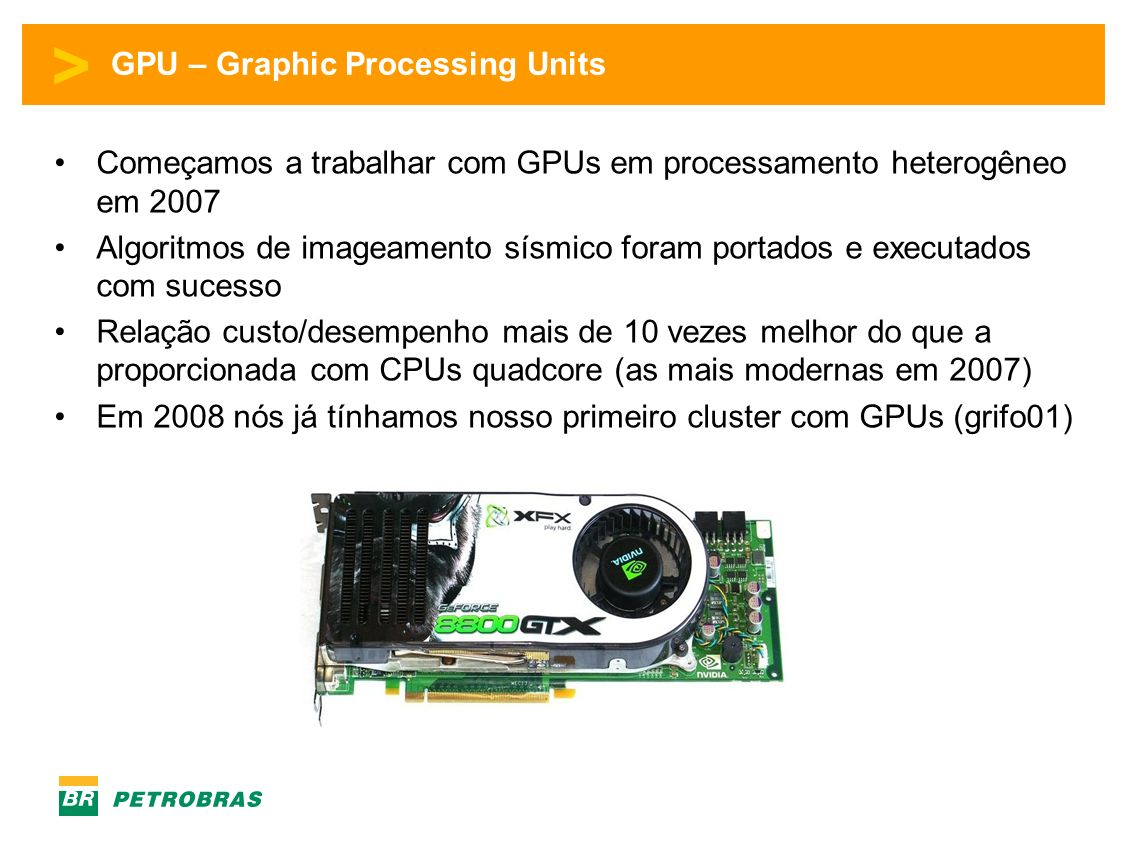 GPU – Graphic Processing Units