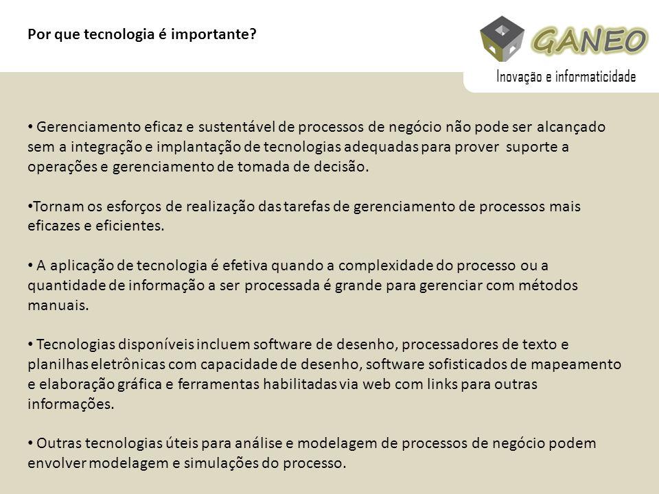 Inovação e informaticidade