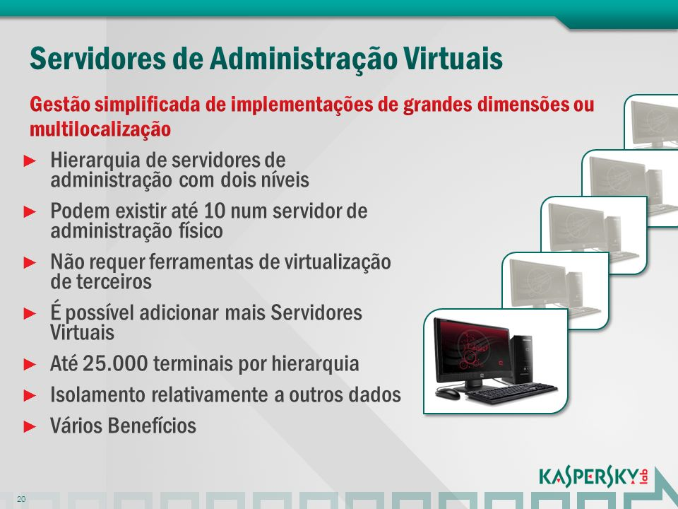 Servidores de Administração Virtuais