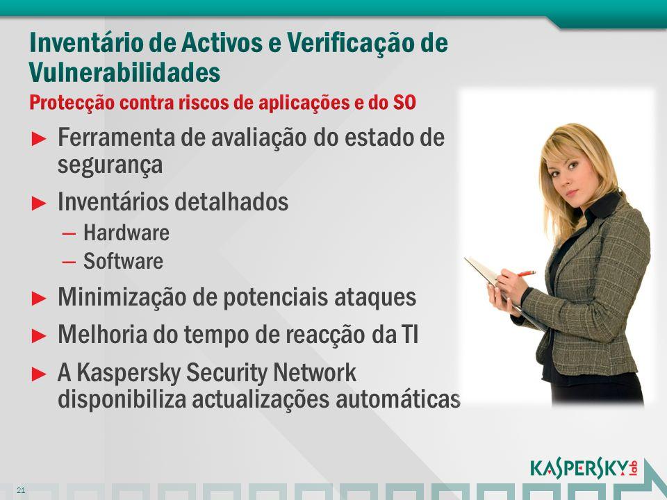 Inventário de Activos e Verificação de Vulnerabilidades