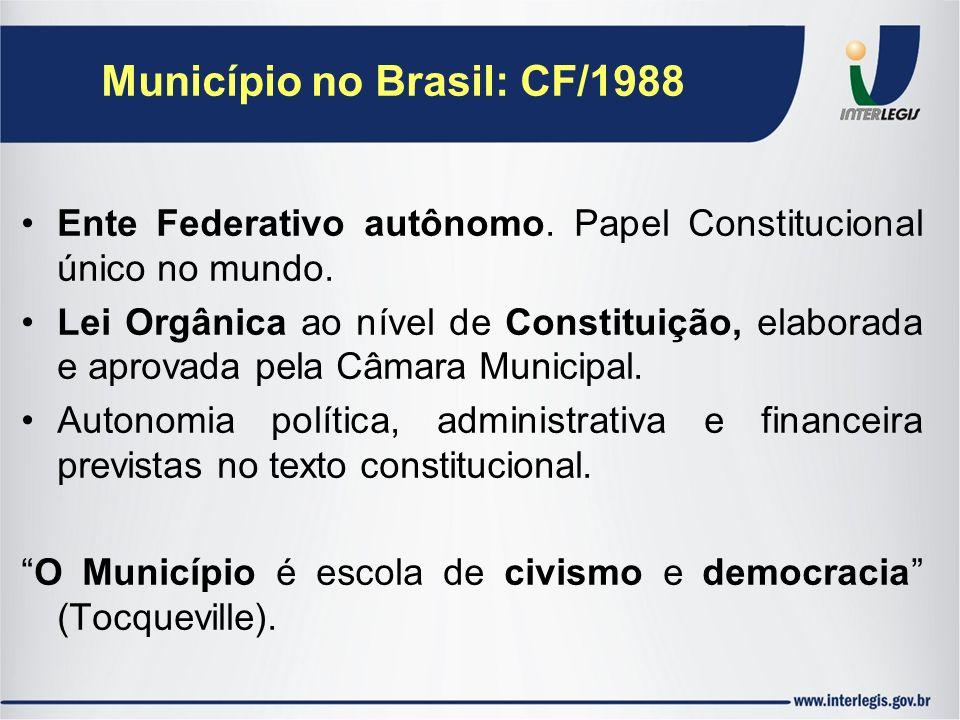 Município no Brasil: CF/1988